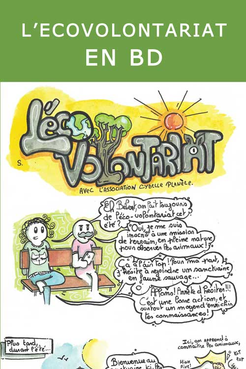 ecovolontariat in comics