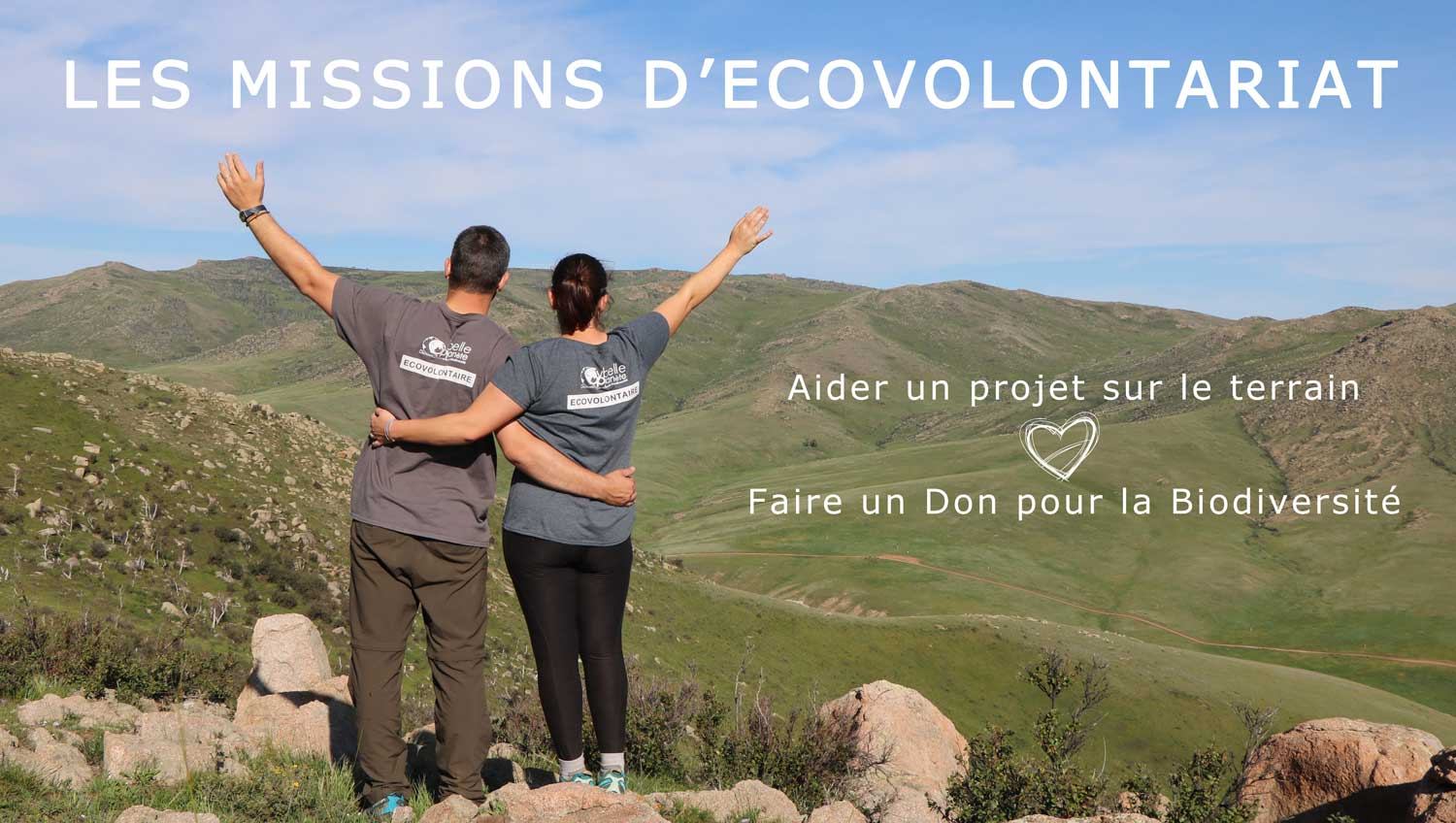 les missions ecovolontariat