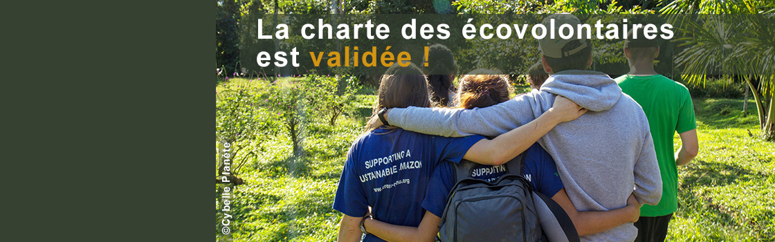 The Ecovolunteers Charter