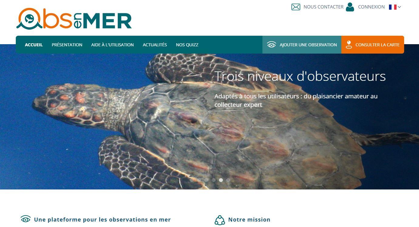 NL 48 homepage sitewebOBSenMER