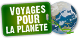 travel logo for the planet