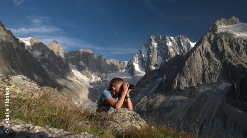 biodiversity monitoring Mont Blanc